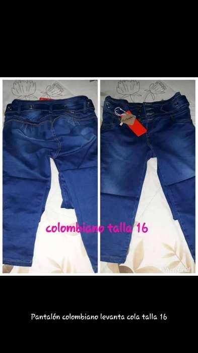 Pantalon Colombiano Levanta Cola