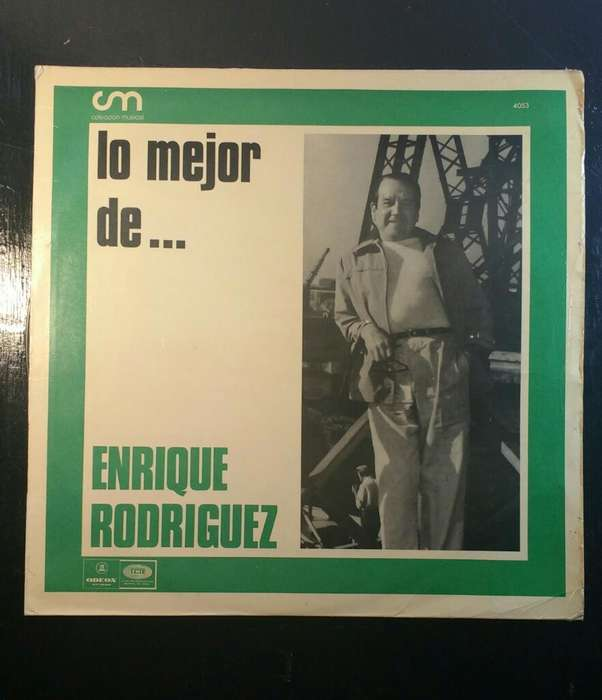 Vinilos Enrique Rodríguez Lote 4unidades