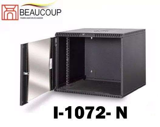 GABINETE RACK BEAUCOUP I1072N COMPACTO DE PARED MONOBLOQUE 12UR