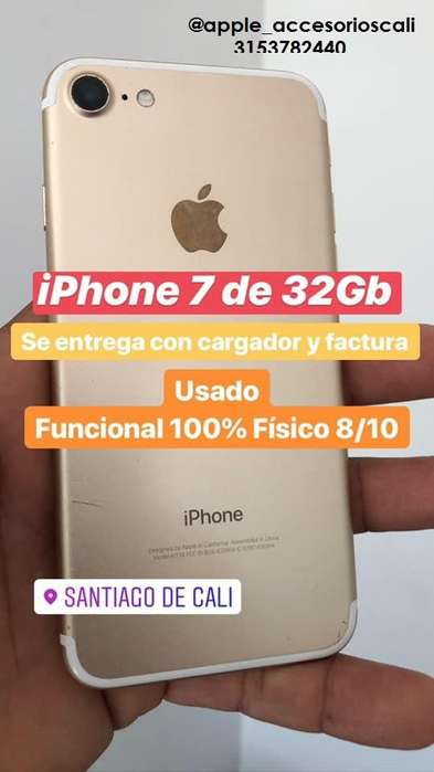 i Phone 7 de 32GB Fotos