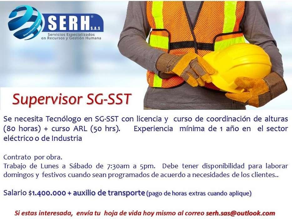 SUPERVISOR SG SST