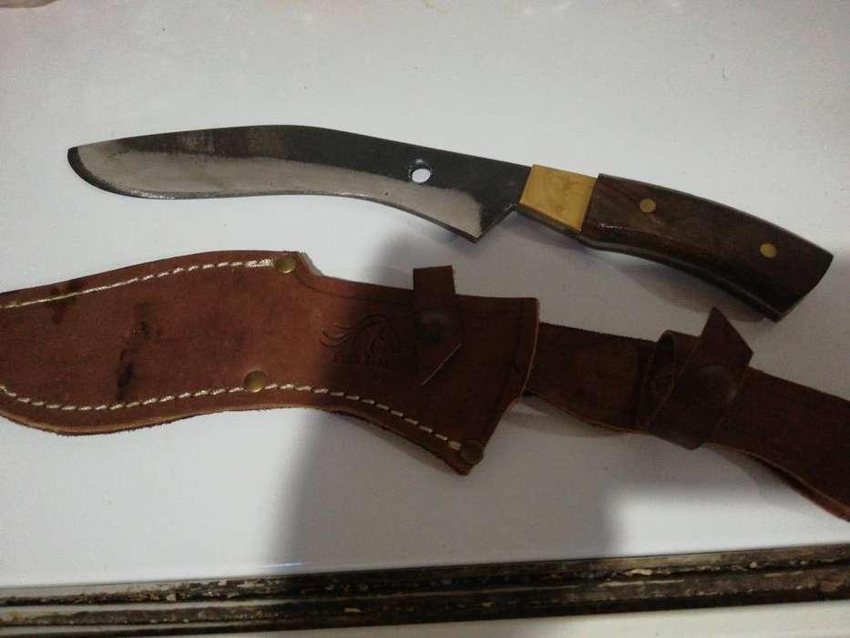 Cuchillo Kukri Artesanal 18,5 de Hoja