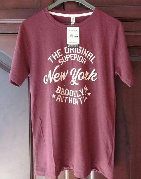 Camiseta Hermosa Strech Hombre S Nueva