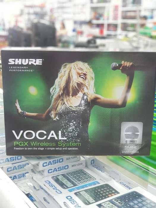 Microfono Shure Pgx Inhalambrico