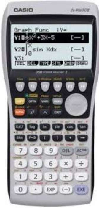 <strong>calculadora</strong> Caso Fx 9860