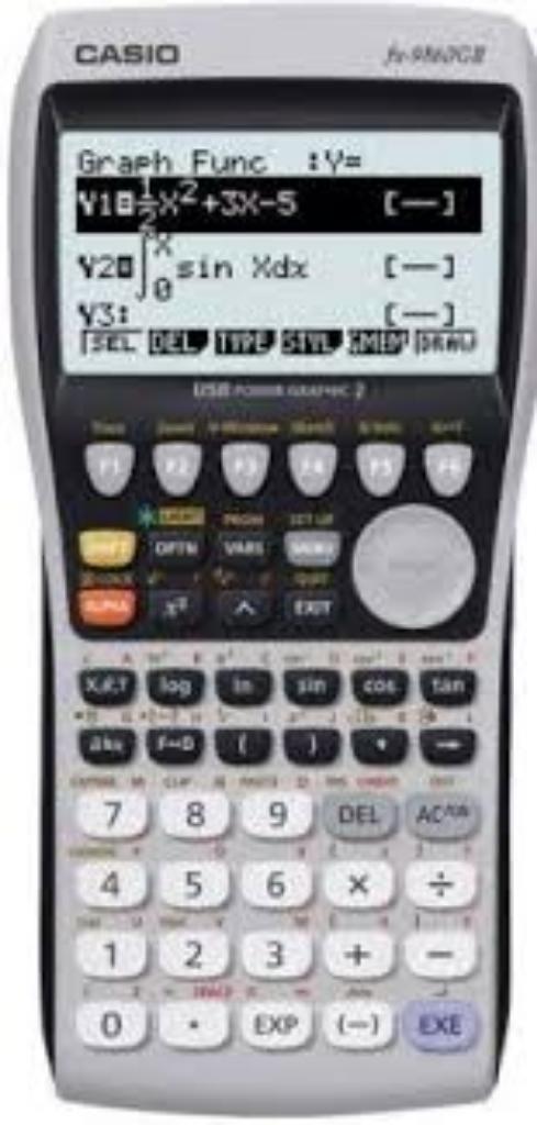 Calculadora Caso Fx 9860