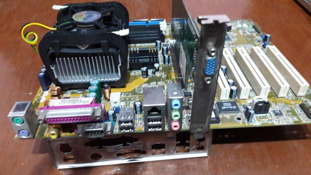 Combo Motherboar Asus P4s8x-x