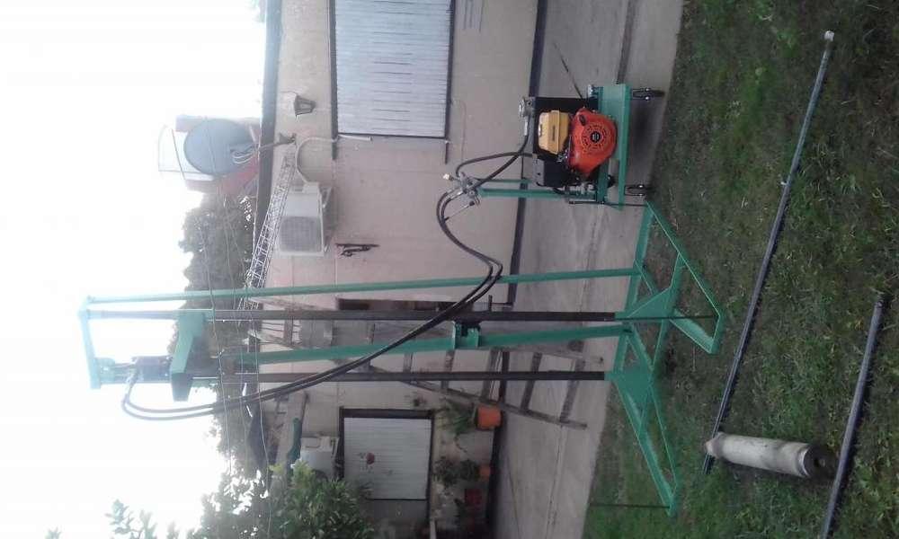 Perforadora Hidraulica para pozos de agua completa