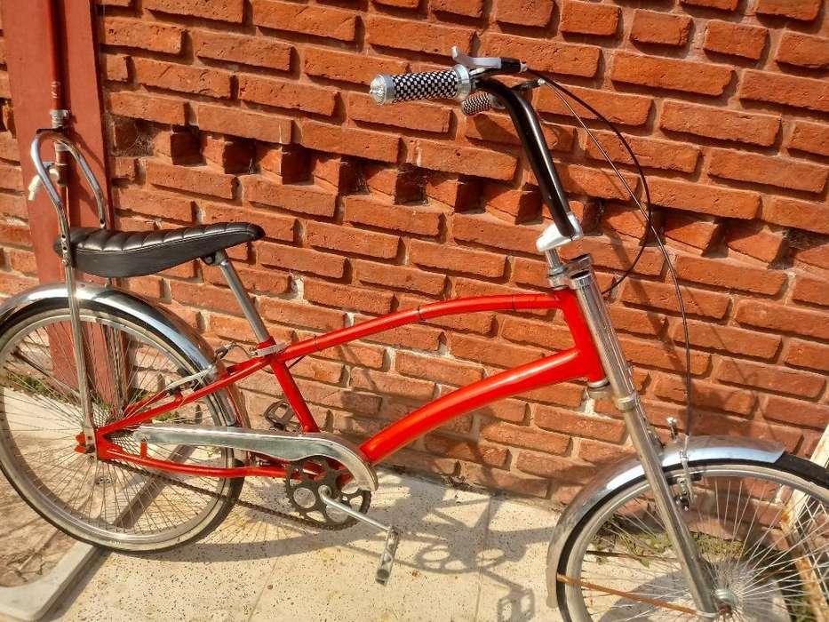 Bicicleta Chopper Asiento Banana Rod. 26