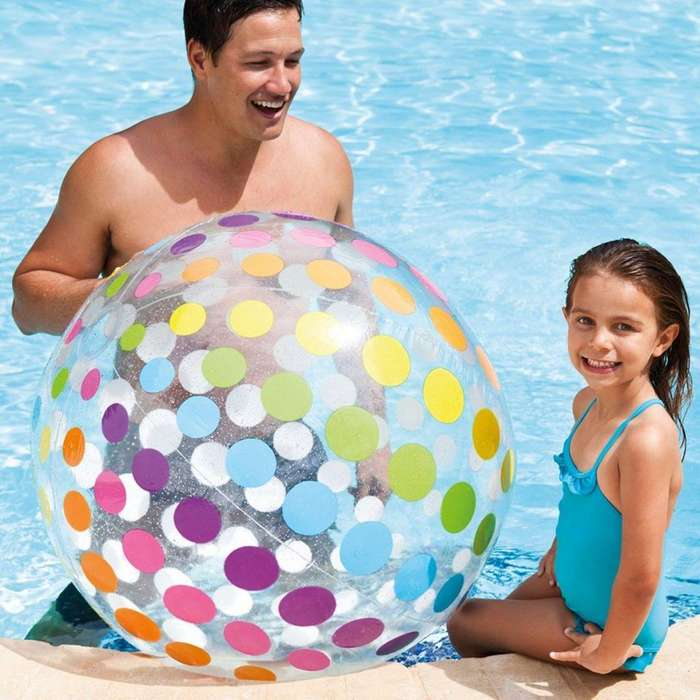 59065 Balón Jumbo Inflable Intex 107cm Piscina
