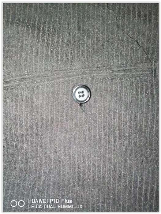 Conjunto Campera Gamuza Azul Pantalón Vestir muy buen estado Leer