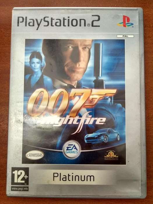 Juego James Bond 007: Nightfire Europeo PS2
