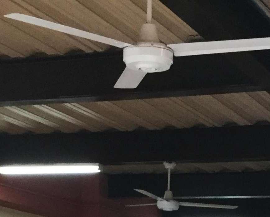 Ventiladores techo indutrial