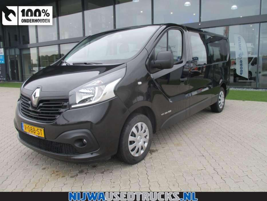 Renault Trafic 1.6 dCi T29 L2H1 Energy Dubbel cabine Navigatie - To be Imported