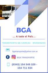 Servicio de transporte a todo el país