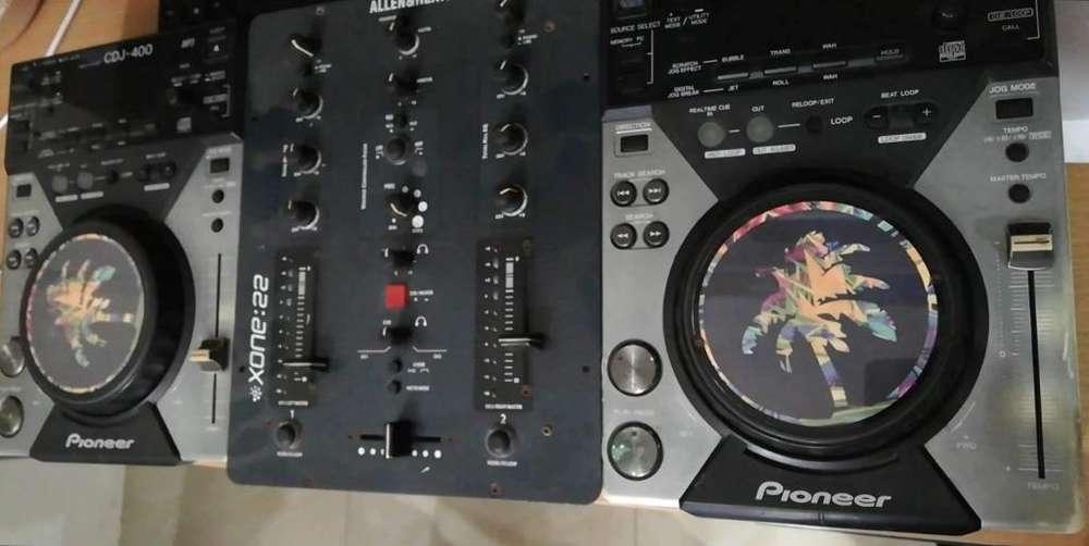 Vendo Pioneer Cddj 400 con Todo