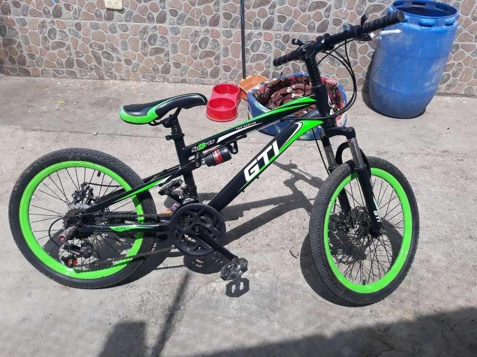 Vendo Bicicleta Gti Semi Nueva