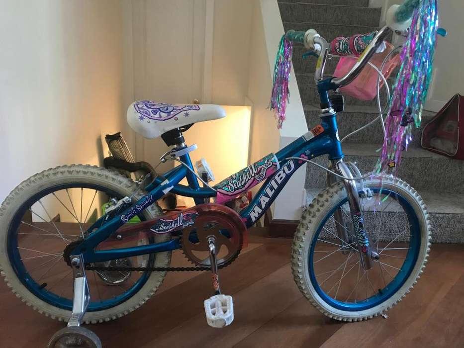 Bicicleta de nia