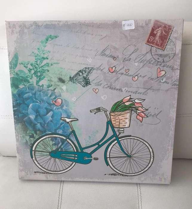 Cuadro Decorativo Bicicleta
