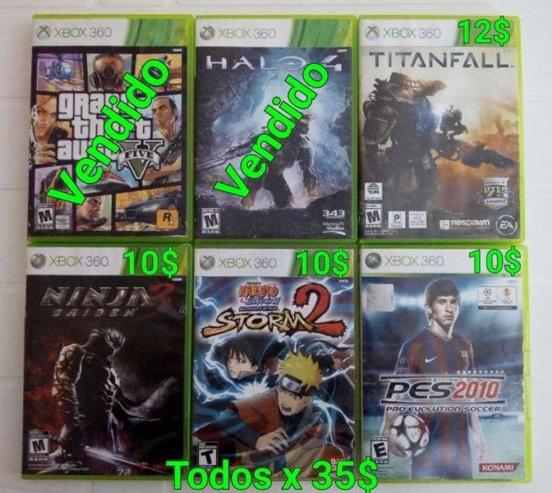 Juegos de Xbox 360 Originales en Fisico
