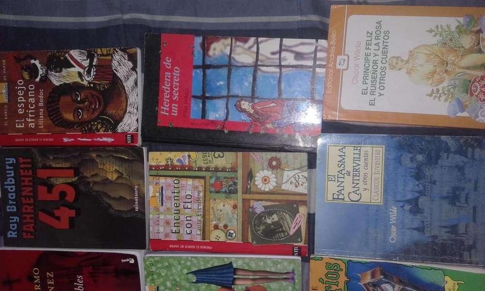 Vendo Libros Y Mangas