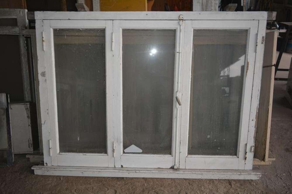 <strong>ventana</strong> de Madera 3 Hojas 1.65x1.20