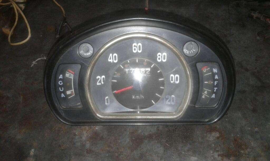 Tablero de Fiat 600en Perfecto Estado