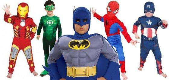 Disfraces SuperHeroes Marvel Capitan America Spiderman Linterna verde , Batman llama ya 3117512739 o, 4979000