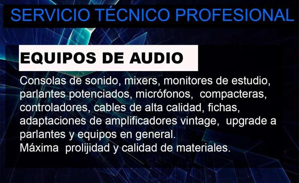 REPARACIÓN AUDIO PRO Y HOGAR MINICOMPONENTES PARLANTES TODAS LAS MARCAS JBL, NOVIK, PANACOM, EDIFIER, SKP, AMERICAN PRO