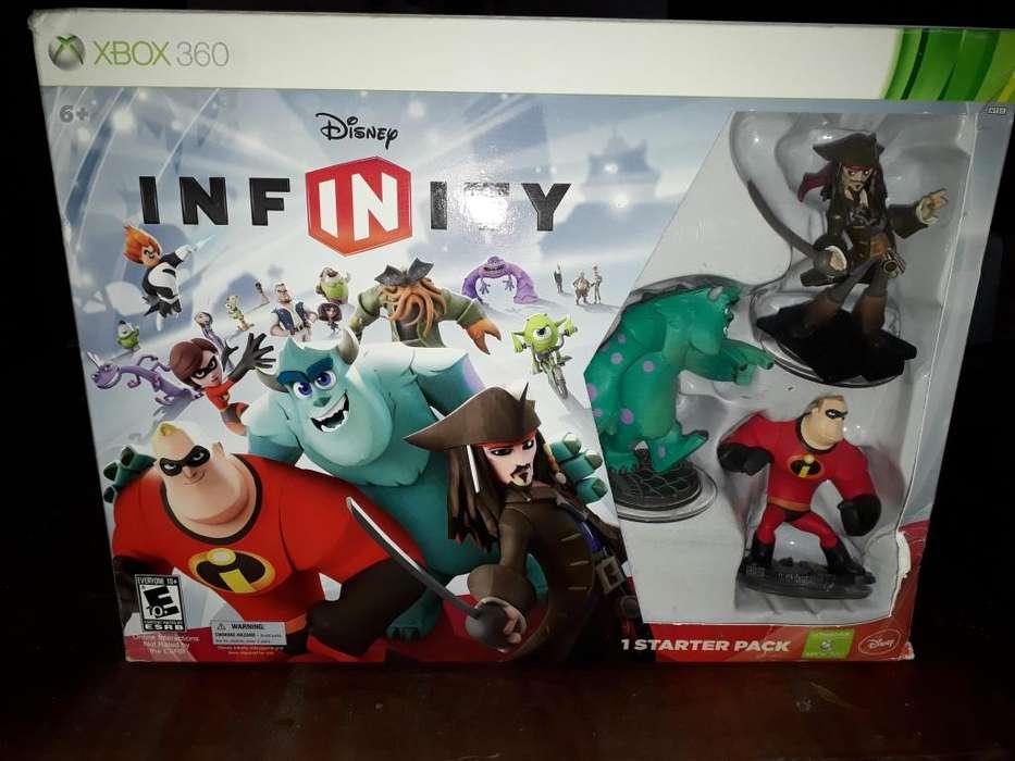 DISNEY INFINITY X BOX 360.SUPER OFERTA !!! NUEVA. IMPERDIBLE.