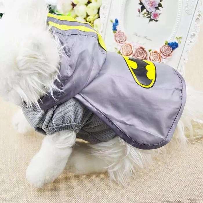 disfraz Batman Y Superman Perro
