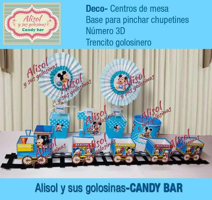 Todo en -ALISOL Y SUS GOLOSINAS Candy Bar-