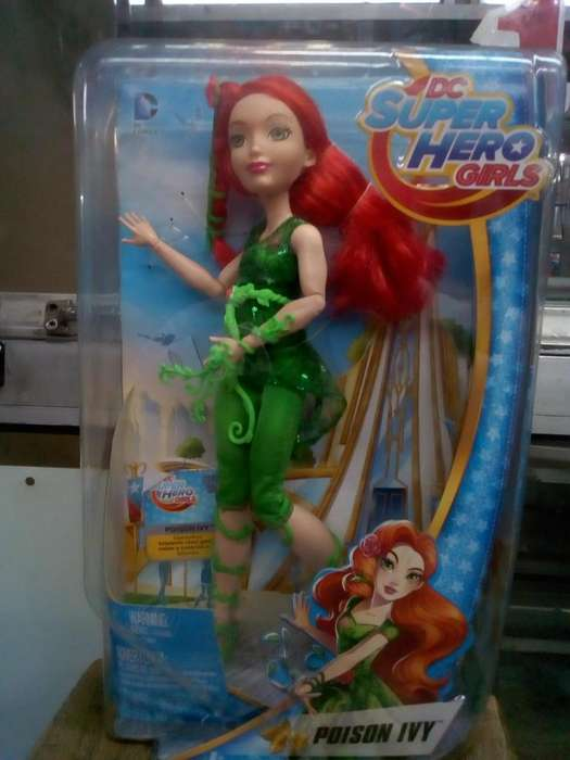 DC Super hero girls poison ivy