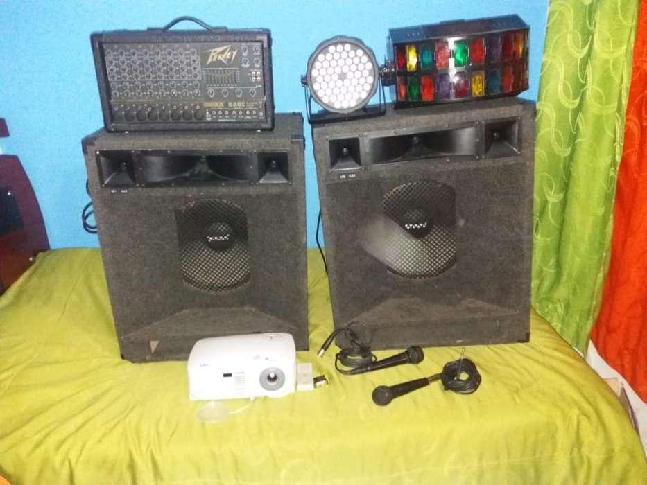 Consola de Sonido Luces para Bar & V.bid