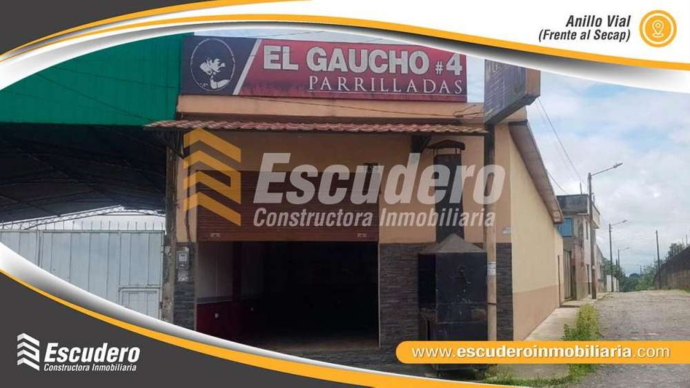 VENDO LOCAL COMERCIAL SECTOR VIA A QUEVEDO
