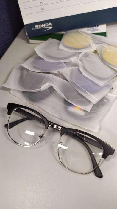 Gafas Clip On Magneticas 5 Piezas Varios