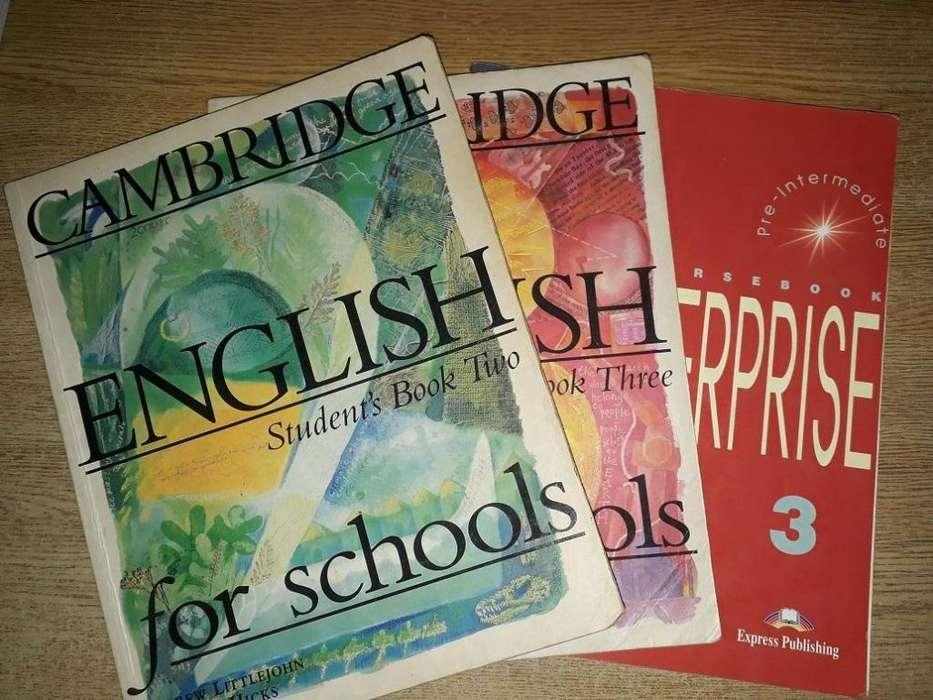 Tres libros de Ingles Student's Books