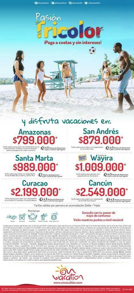 Viaja Y Programa Tus Vacaciones