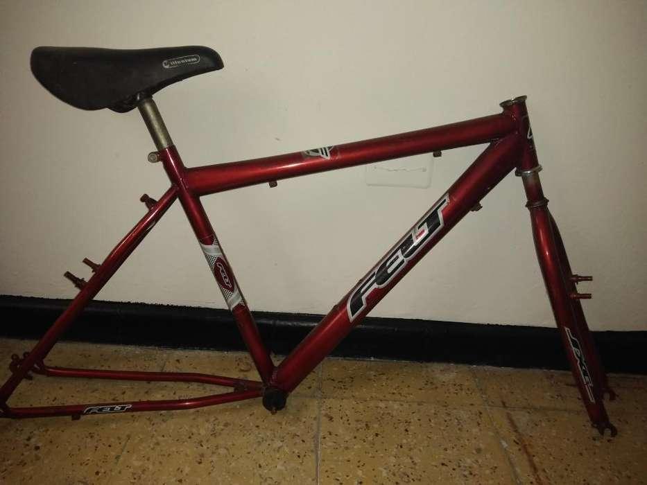 Marco Bicicleta Hierro Todoterreno