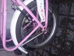 Bicicleta hermosa para nia rodado 14 escucho ofertas razonables