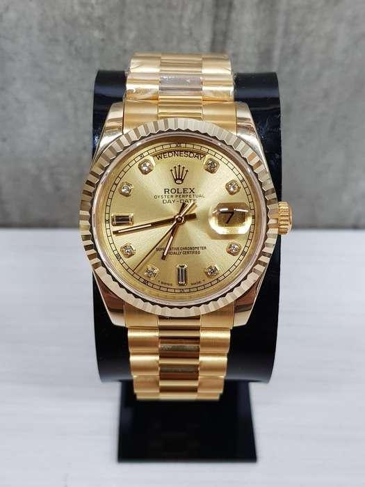 vemdo reloj <strong>rolex</strong> presidemt de oro
