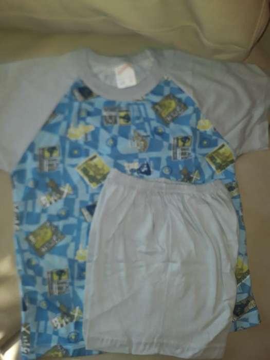 Pijama Algodon para 4 Años