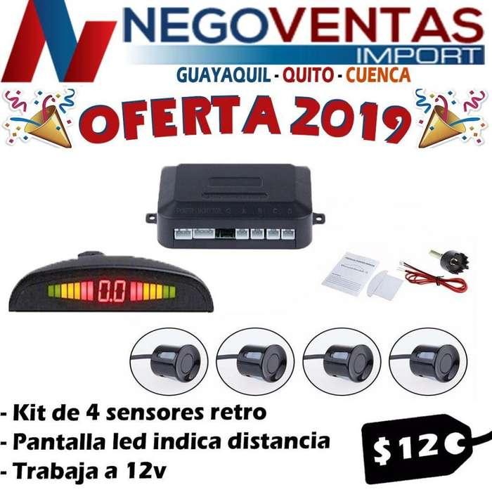 SENSORES DE PARQUEO PARA CARROS PRECIO OFERTA 12