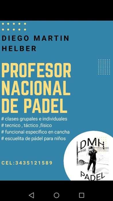Profesor de Padel