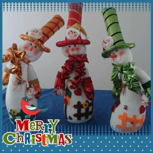 Muñecos de Navidad.