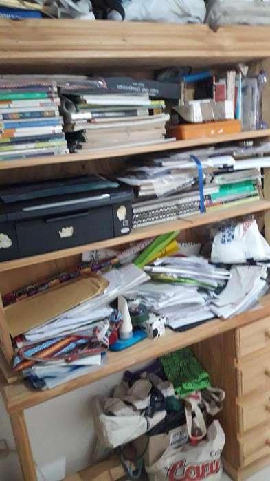 Biblioteca con <strong>escritorio</strong> Desmontable