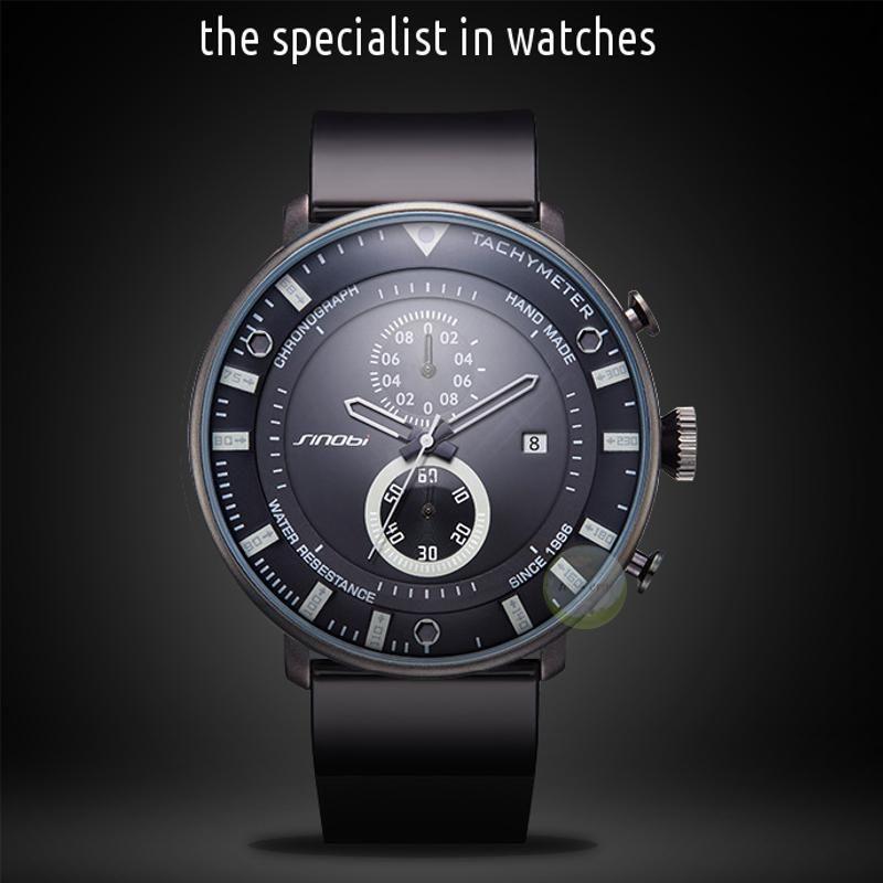 Reloj Hombre Lujo Acero Analógico Quartz Acuático Color Mate