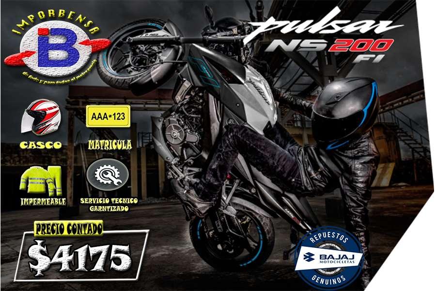 MOTOS SANTO DOMINGO//PULSAR NS-200 FI , GRATIS <strong>casco</strong>,MATRICULA, E IMPERMEABLE//IMPORTADORA BENAVIDES SANTO DOMINGO
