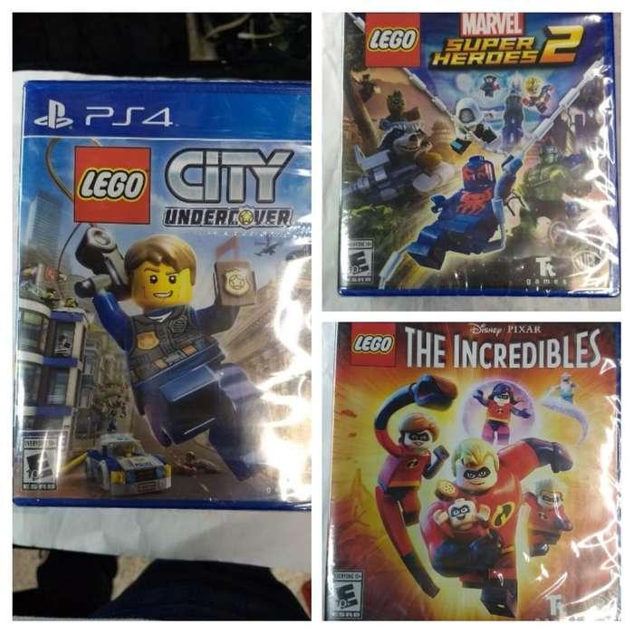 Legos Play 4 Nuevos C/u