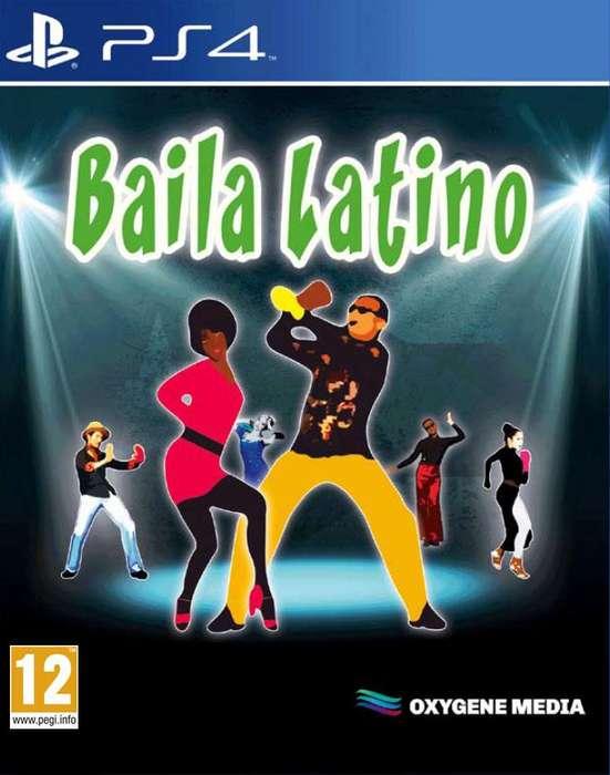 BAILA LATINO PS4